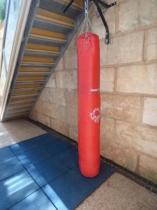 kick-boxing-bag-at-mallorca-villa-