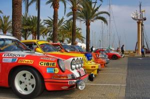 classic-car rally in mallorca